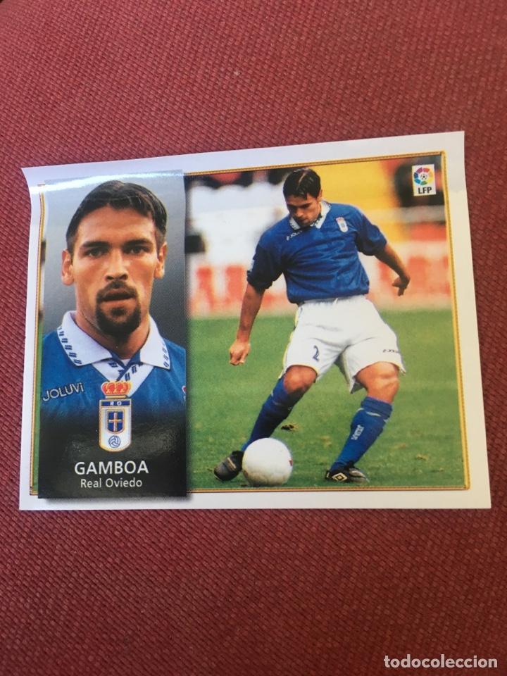 ESTE 98 99 1998 1999 OVIEDO VENTANILLA GAMBOA VENTANILLA (Coleccionismo Deportivo - Álbumes y Cromos de Deportes - Cromos de Fútbol)