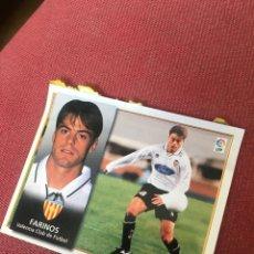 Cromos de Fútbol: ESTE 98 99 1998 1999 VENTANILLA VALENCIA FARINOS. Lote 164909584