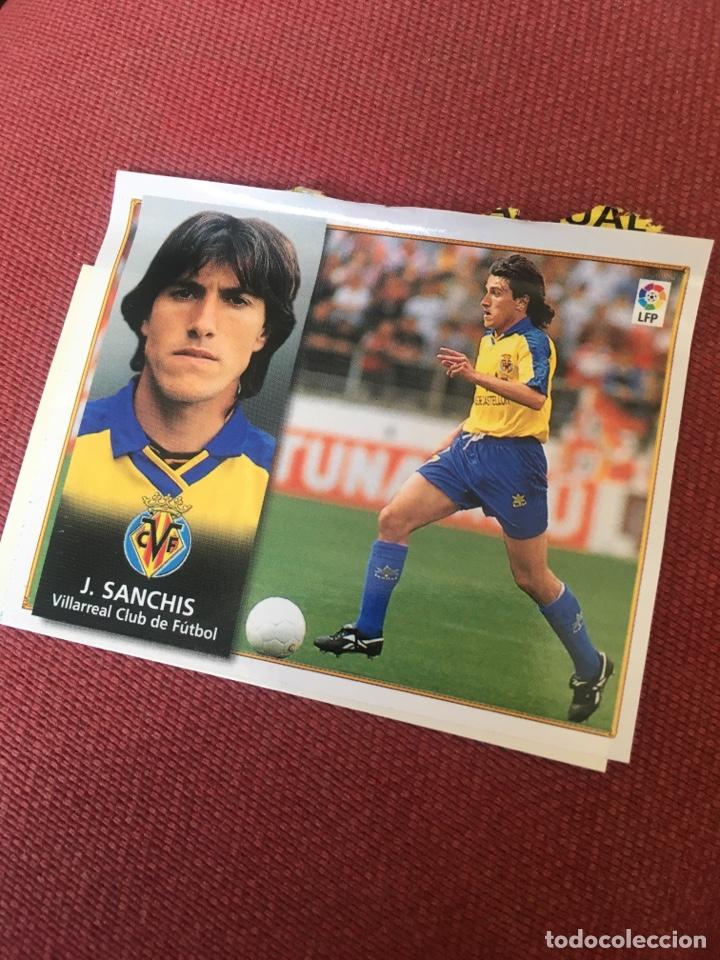 ESTE 98 99 1998 1999 VENTANILLA VILLARREAL (Coleccionismo Deportivo - Álbumes y Cromos de Deportes - Cromos de Fútbol)