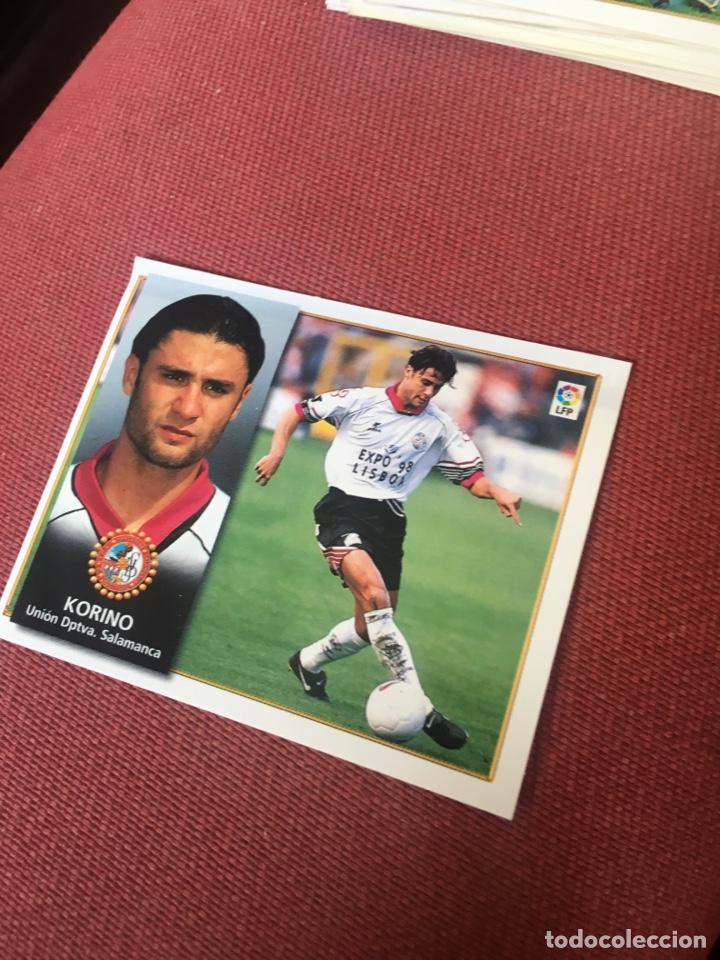 ESTE 98 99 1998 1999 VENTANILLA SALAMANCA (Coleccionismo Deportivo - Álbumes y Cromos de Deportes - Cromos de Fútbol)