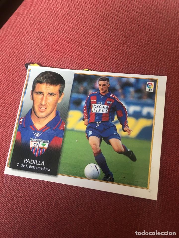 ESTE 98 99 1998 1999 VENTANILLA EXTREMADURA PADILLA (Coleccionismo Deportivo - Álbumes y Cromos de Deportes - Cromos de Fútbol)