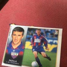 Cromos de Fútbol: ESTE 98 99 1998 1999 VENTANILLA EXTREMADURA PADILLA. Lote 164911721