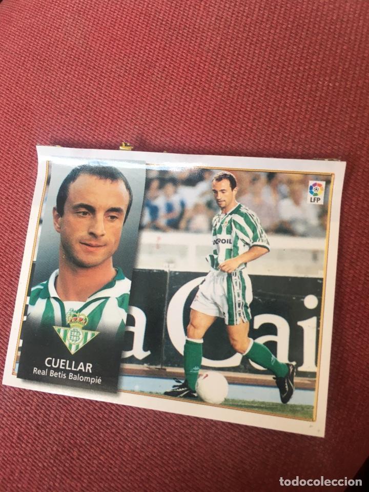 ESTE 98 99 1998 1999 VENTANILLA BETIS (Coleccionismo Deportivo - Álbumes y Cromos de Deportes - Cromos de Fútbol)
