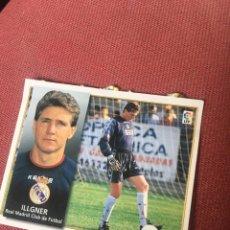 Cromos de Fútbol: ESTE 98 99 1998 1999 VENTANILLA REAL MADRID ILLGNER. Lote 164912892