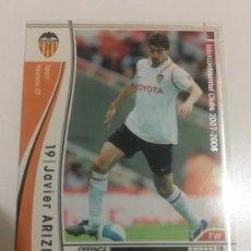 Cromos de Fútbol: CROMO CARD WCCF LIGA 2007-08 PANINI DE JAPÓN VALENCIA CF ARIZMENDI (TENGO MÁS MIRA MIS LOTES). Lote 164920862