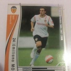 Cromos de Fútbol: CROMO CARD WCCF LIGA 2007-08 PANINI DE JAPÓN VALENCIA CF MORETTI (TENGO MÁS MIRA MIS LOTES). Lote 164920934