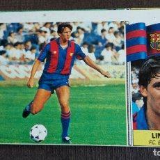 Cromos de Fútbol: ESTE 86 87 1986 1987 - FICHAJE 20 BIS LINEKER - FC. BARCELONA ( NUNCA PEGADO ). Lote 164971386