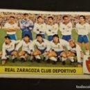 Cromos de Fútbol: ALINEACION ZARAGOZA 86 87 1986 1987 ESTE RECUPERADO. Lote 164982734