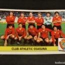 Cromos de Fútbol: ALINEACION OSASUNA 86 87 1986 1987 ESTE RECUPERADO. Lote 164982766