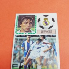 Cromos de Fútbol: ESTE LIGA 83/84.. COLOCA BERNARDO.. REAL MADRID.. RECUPERADO... DIFÍCIL... . Lote 165128262