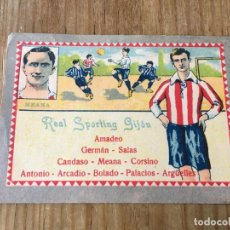 Cromos de Fútbol: R6032 CROMO JUGADOR MEANA SPORTING GIJON CHOCOLATES E. JUNCOSA SIN PEGAR. Lote 165170186