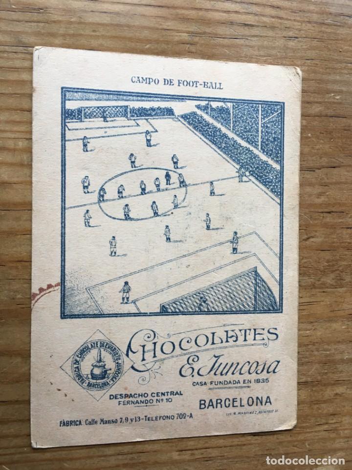 Cromos de Fútbol: R6032 CROMO JUGADOR MEANA SPORTING GIJON CHOCOLATES E. JUNCOSA SIN PEGAR - Foto 2 - 165170186