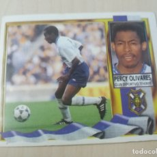 Cromos de Fútbol: EDICIONES ESTE 95 96 BAJA PERCY OLIVARES TENERIFE CROMO NUEVO SIN PEGAR. Lote 195156748
