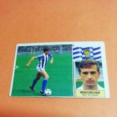 Cromos de Fútbol: ESTE LIGA 86 /87.. COLOCA.. BENGOECHEA.. REAL SOCIEDAD.. NUNCA PEGADO.. SIN PEGAR... . Lote 165260190