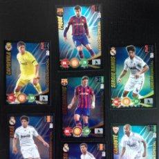 Cromos de Fútbol: IBRAHIMOVIC ADRENALYN XL 2009/2010-09/10 LOTE DE 7 EDICIONES ESPECIALES. Lote 165266666