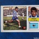 Cromos de Fútbol: ARÁEZ. MÁLAGA. FHER 1973-1974. 73-74. FICHAJE N° 7. SIN PEGAR. VER FOTOS DE FRONTAL Y TRASERA.. Lote 165372357