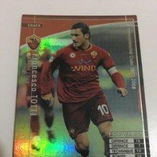 Cromos de Fútbol: CROMO CARD WCCF LIGA 2007-08 PANINI DE JAPÓN ROMA TOTTI CRACK TENGO MÁS MIRA MIS LOTES. Lote 165415658