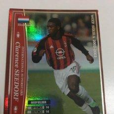 Cromos de Fútbol: CROMO CARD WCCF LIGA 2002-03 PANINI DE JAPÓN MILAN CLARENCE SEEDORF , TENGO MÁS MIRA MIS LOTES. Lote 226401325