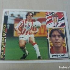 Cromos de Fútbol: EDICIONES ESTE 97 98 DAVID CANO SPORTING DE GIJON CROMO NUEVO SIN PEGAR. Lote 288439333