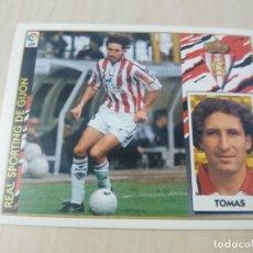 Cromos de Fútbol: EDICIONES ESTE 97 98 TOMAS SPORTING DE GIJON CROMO NUEVO SIN PEGAR. Lote 288439423