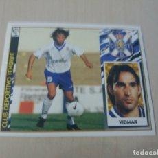 Cromos de Fútbol: EDICIONES ESTE 97 98 VIDMAR TENERIFE CROMO NUEVO SIN PEGAR. Lote 288439708