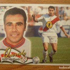 Cromos de Fútbol: CROMO LIGA ESTE 00 01 QUEVEDO (RAYO VALLECANO) - NUNCA PEGADO - 2000 2001. Lote 165510594