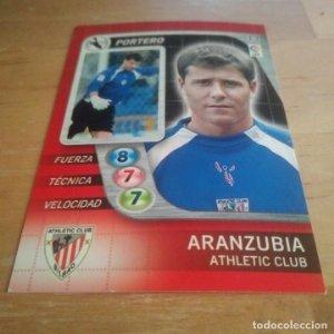 13 Aranzubia. Athletic Club Bilbao Derby Total 2005 2006 05 06 LFP El gran juego de fútbol de Panini