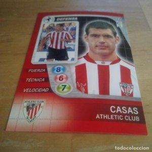 17 Casas. Athletic Club Bilbao Derby Total 2005 2006 05 06 LFP El gran juego de fútbol de Panini