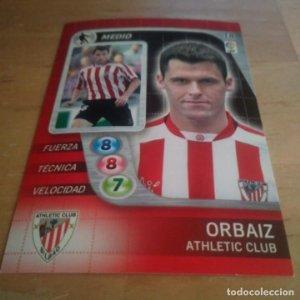 18 Orbaiz. Athletic Club Bilbao Derby Total 2005 2006 05 06 LFP El gran juego de fútbol de Panini
