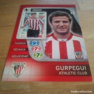 19 Gurpegui. Athletic Club Bilbao Derby Total 2005 2006 05 06 LFP El gran juego de fútbol de Panini