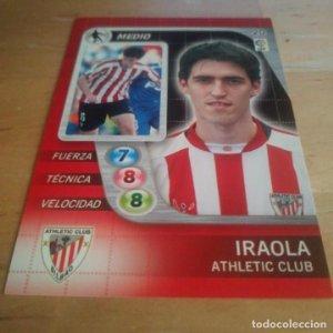20 Iraola. Athletic Club Bilbao. Derby Total 2005 2006 05 06 LFP El gran juego de fútbol de Panini