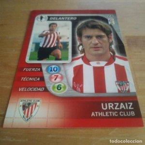24 Urzaiz. Athletic Club Bilbao. Derby Total 2005 2006 05 06 LFP El gran juego de fútbol de Panini