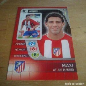32 Maxi. Atlético de Madrid. Derby Total 2005 2006 05 06 LFP El gran juego de fútbol de Panini
