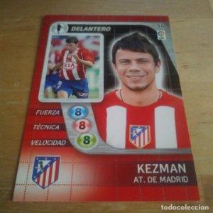 36 Kezman. Atlético de Madrid. Derby Total 2005 2006 05 06 LFP El gran juego de fútbol de Panini