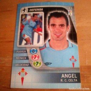 74 Angel. R.C. Celta. Derby Total 2005 2006 05 06 LFP El gran juego de fútbol de Panini