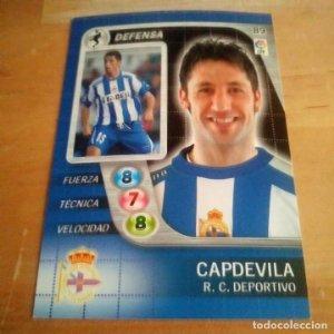 89 Capdevila. R.C. Deportivo. Derby Total 2005 2006 05 06 LFP El gran juego de fútbol de Panini