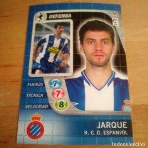 98 Jarque. R.C. Espanyol. Derby Total 2005 2006 05 06 LFP El gran juego de fútbol de Panini