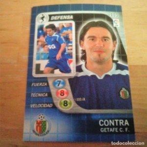110 Contra. Getafe C.F. Derby Total 2005 2006 05 06 LFP El gran juego de fútbol de Panini