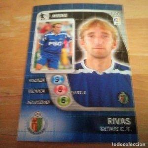 114 Rivas. Getafe C.F. Derby Total 2005 2006 05 06 LFP El gran juego de fútbol de Panini
