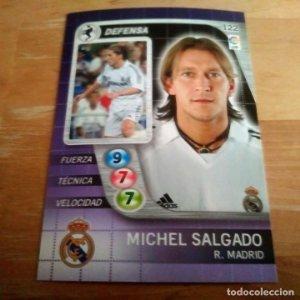 122 Salgado. Real Madrid. Derby Total 2005 2006 05 06 LFP El gran juego de fútbol de Panini