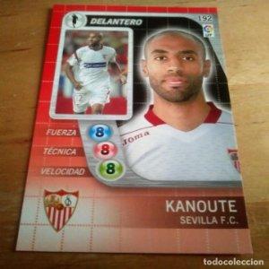 192 Kanoute. Sevilla F.C. Derby Total 2005 2006 05 06 LFP El gran juego de fútbol de Panini