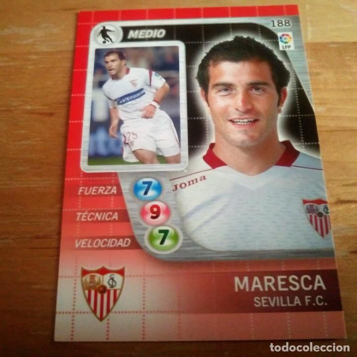188 Maresca. Sevilla F.C. Derby Total 2005 2006 05 06 LFP El gran juego de fútbol de Panini