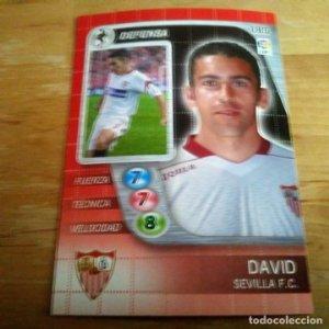 185 David. Sevilla F.C. Derby Total 2005 2006 05 06 LFP El gran juego de fútbol de Panini