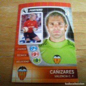 205 Cañizares. Valencia C.F.. Derby Total 2005 2006 05 06 LFP El gran juego de fútbol de Panini