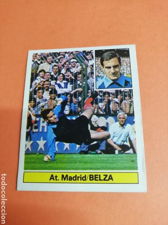 ESTE LIGA 81/82..BELZA.. BAJA.. ATLÉTICO DE MADRID.. NUNCA PEGADO.. SIN PEGAR... (Coleccionismo Deportivo - Álbumes y Cromos de Deportes - Cromos de Fútbol)