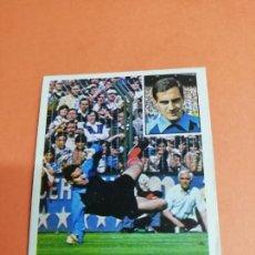 Cromos de Fútbol: ESTE LIGA 81/82..BELZA.. BAJA.. ATLÉTICO DE MADRID.. NUNCA PEGADO.. SIN PEGAR.... Lote 165693306