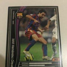Cromos de Fútbol: CROMO CARD WCCF LIGA 2005-06 PANINI DE JAPÓN FC BARCELONA BARÇA XAVI , TENGO MAS MIRA MIS LOTES. Lote 165751754