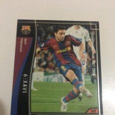Cromos de Fútbol: CROMO CARD WCCF LIGA 2007-08 PANINI DE JAPÓN FC BARCELONA BARÇA XAVI , TENGO MAS MIRA MIS LOTES. Lote 165753786