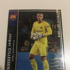 Cromos de Fútbol - CROMO CARD WCCF LIGA 2017-18 PANINI DE JAPÓN FC BARCELONA BARÇA CILLESSEN TENGO MAS MIRA MIS LOTES - 165760546