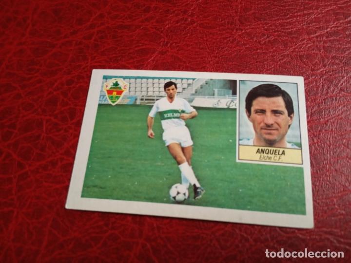 ANQUELA ELCHE ED ESTE 84 85 CROMO FUTBOL LIGA 1984 1985 - DESPEGADO - 902 (Coleccionismo Deportivo - Álbumes y Cromos de Deportes - Cromos de Fútbol)